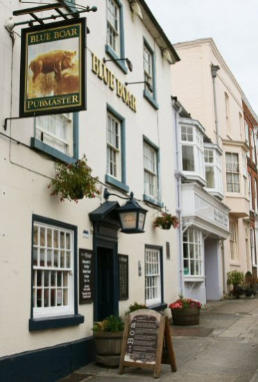 Blue Boar Inn, Mill Street, Ludlow