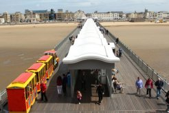 Boardwalk, from balcony, Grand Pier, Weston-super-Mare