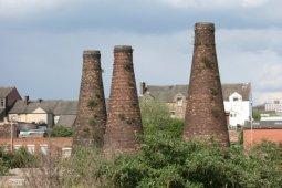 Bottle Kilns, Acme Marls, Woodbank Street, Burslem, Stoke-on-Trent