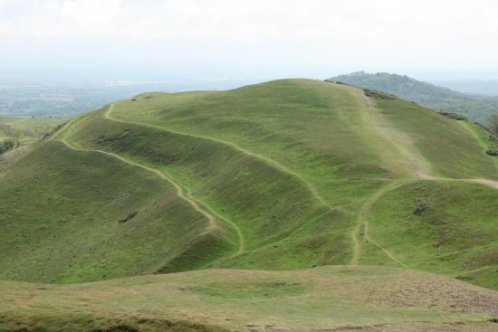 Earthworks, British Camp (Herefordshire Beacon), Malvern Hills