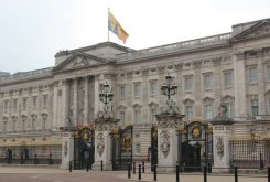 Buckingham Palace. Royal Wedding, Prince William and Kate, 29th April 2011