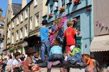Bucky Doo Square, Bridport Hat Festival, 2012, Bridport