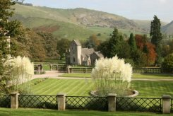 Bunster Hill, from Manifold Tea Rooms, Ilam Park, Ilam, Peak District
