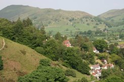 Caer Caradoc Hill, from The Long Mynd