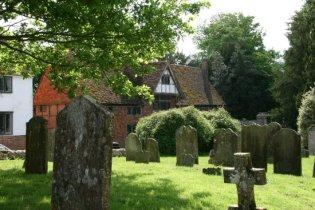Castle Inn and St. Mary's Churchyard, Chiddingstone