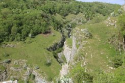 Cheddar Gorge, from above the Pinnacles, Cheddar