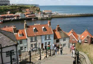 Church Stairs, (199 steps) Whitby