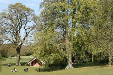 Clandon Park garden, West Clandon