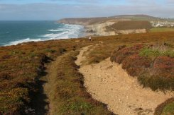 Cliff path to Porthtowan