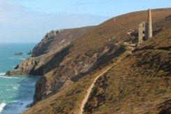 Cliff path to Wheal Coates Mine, St. Agnes