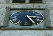Clock, Church of St. Andrew and St. Mary, Grantchester