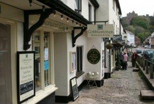 Cobblestones Restaurant and Cafe, High Street, Dunster, Exmoor