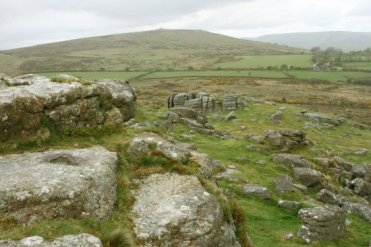 Corndon Tor, from Sharp Tor, Dartmoor