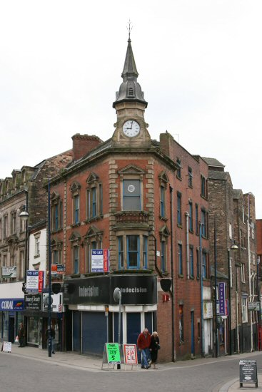 Corner of Piccadilly and Brunswick Street, Hanley, Stoke-on-Trent