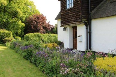 Cottage garden, Village Green, Ardeley