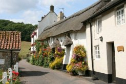 Cottages, Church Row, Branscombe