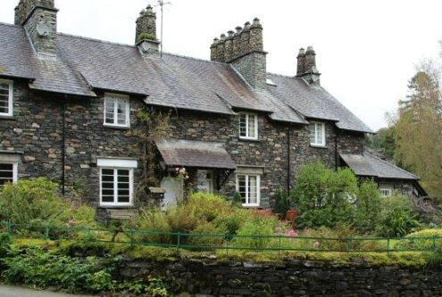 Cottages, Skelwith Bridge, Langdale Valley, near Elterwater