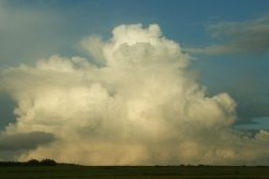 Cumulonimbus clouds, near Jamaica Inn, Launceston, Bodmin Moor