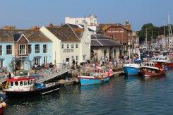 Custom House Quay, from Town Bridge, Weymouth
