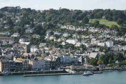 Dartmouth, from Ridley Hill, Kingswear