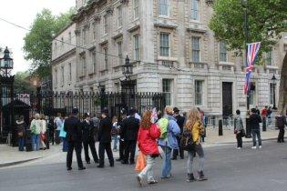 Downing Street. Royal Wedding, 29th April 2011