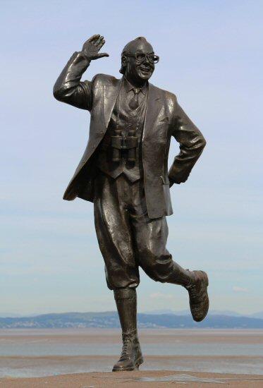 Eric Morecambe Statue, Morecambe