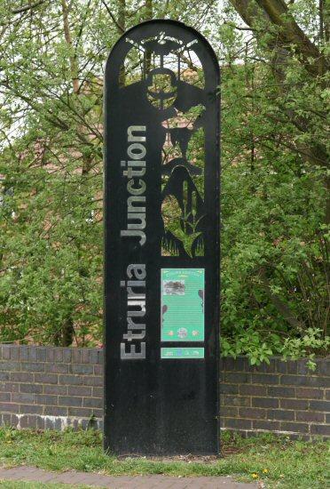 Etruria Junction sign, Etruria Junction, Stoke-on-Trent