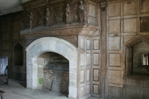 Fireplace in the Living Room (Solar), Stokesay Castle
