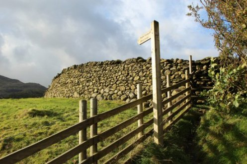 Footpath to Miners Bridge, The Old Man of Coniston
