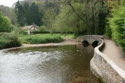 Gallox Bridge, over River Avill, Dunster, Exmoor