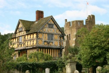 Gatehouse and South Tower, Stokesay Castle