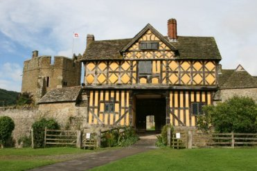 Gatehouse, Stokesay Castle