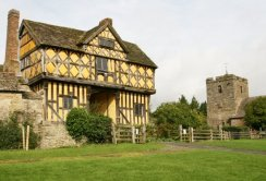 Gatehouse, Stokesay Castle and St. John the Baptist Church, Stokesay