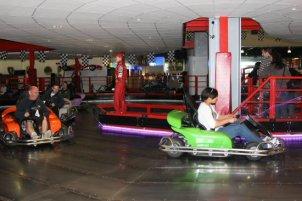 Go-karts, Grand Pier, Weston-super-Mare