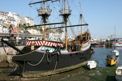 'Golden Hind' Replica, (Sir Francis Drake's ship) Brixham