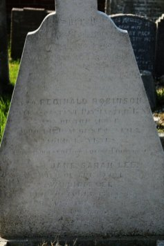 Grave of Reginald Robinson Lee, Look-out on the Titanic, Highland Road Cemetery, Southsea