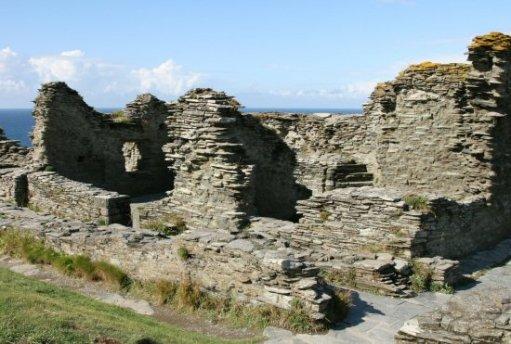 Great Hall, Inner Ward, Tintagel Castle, Tintagel