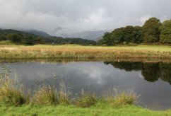 Great Langdale and River Brathay, Elterwater