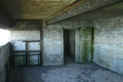 Remains of gun emplacement, South Foreland, White Cliffs of Dover