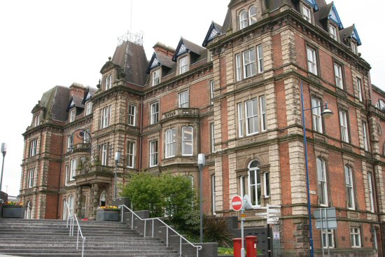 Hanley Town Hall, Hanley, Stoke-on-Trent