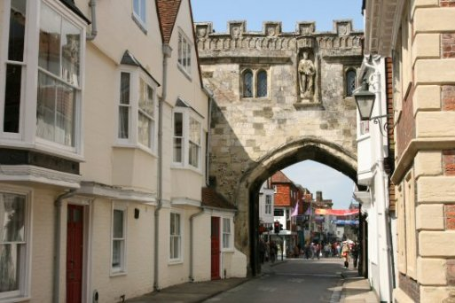 High Street Gate, from The Close, Salisbury