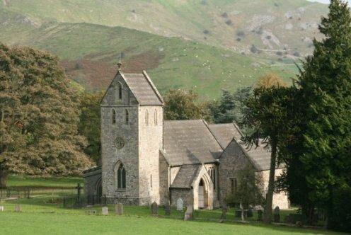 Holy Cross Church, Ilam Park, Ilam, Peak District