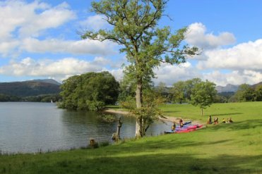 Jenkins Field, Waterhead, Lake Windermere