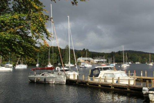 Jetty, Fell Foot Park, Newby Bridge, Lake Windermere