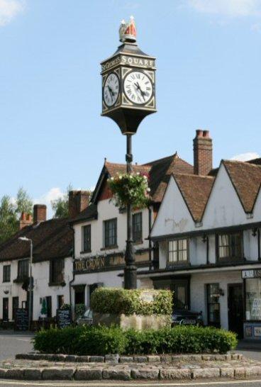Jubilee Clock, St. George's Square, Bishop's Waltham