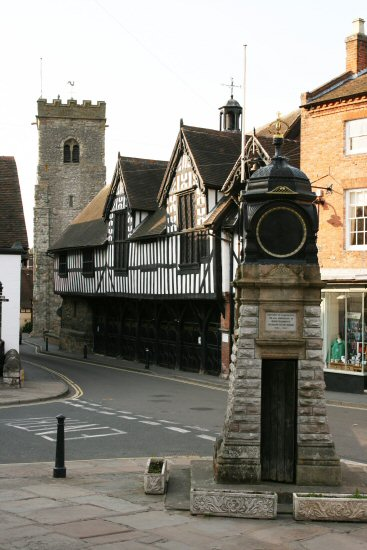 Jubilee Clock, The Square, Much Wenlock