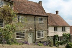 Lambourne Cottage and Updown Cottage, Gold Hill, Shaftesbury
