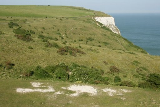 Langdon Hole, White Cliffs of Dover