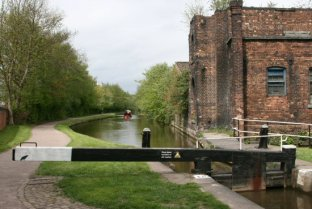 Lock 38 Stoke Flight, Trent and Mersey Canal, Stoke-on-Trent