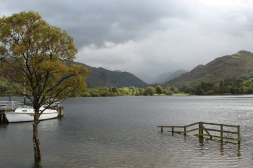 Looking towards Patterdale, from Glenridding, Ullswater